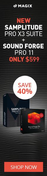 MAGIX Software Sound Forge Pro + Samplitude Pro X