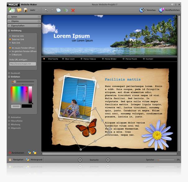 Image Gallery Website Maker
