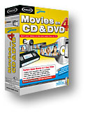 MAGIX Movies on CD & DVD