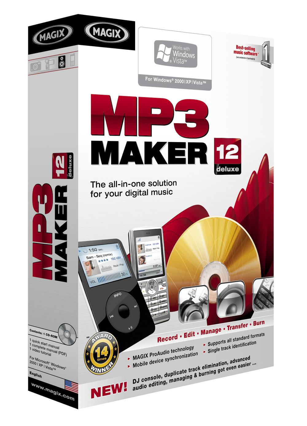 MAGIX MP3 Maker deluxe