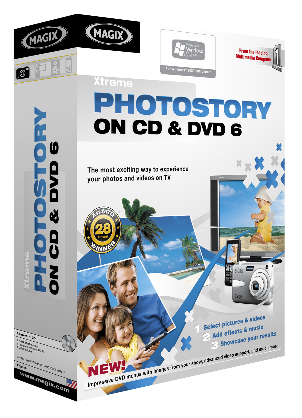 MAGIX Xtreme Photostory on CD & DVD 6 Download version