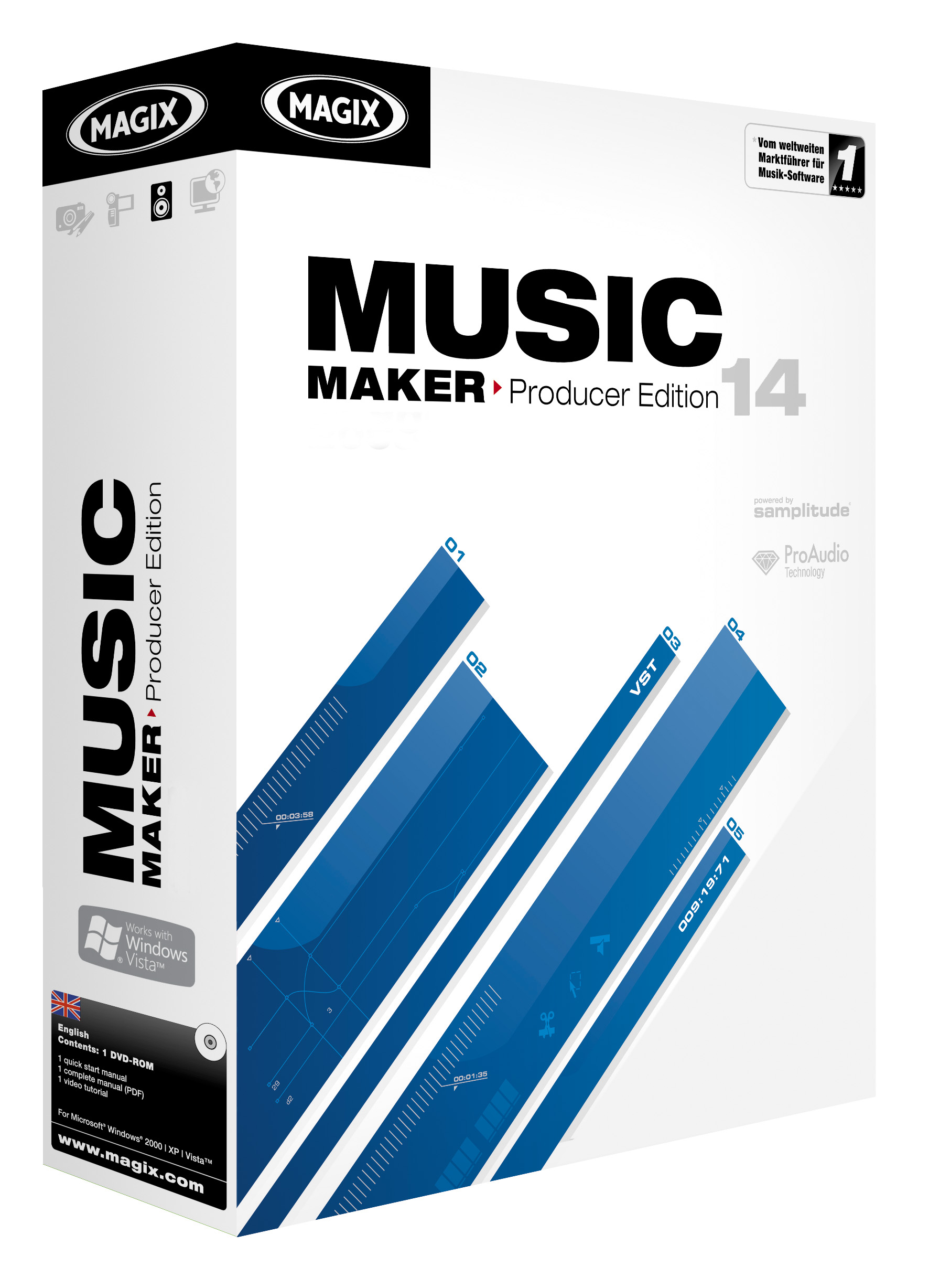 MAGIX Music Maker 14 Producer Edition Download Version