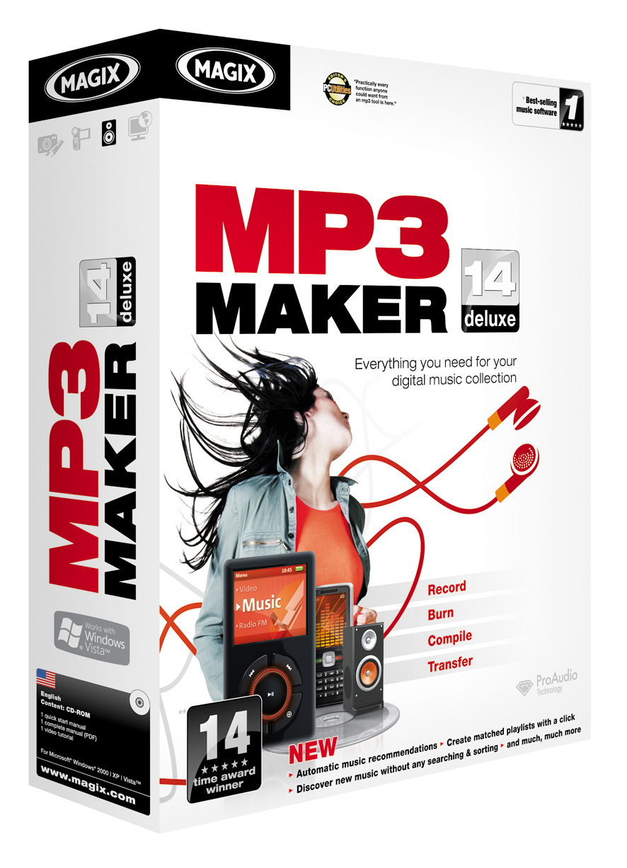 MAGIX MP3 Maker 14 deluxe
