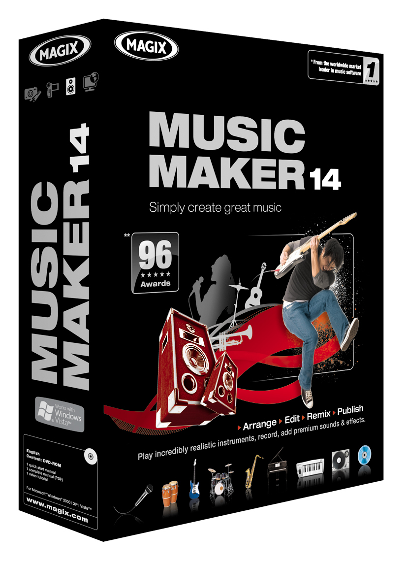 MAGIX Music Maker 14