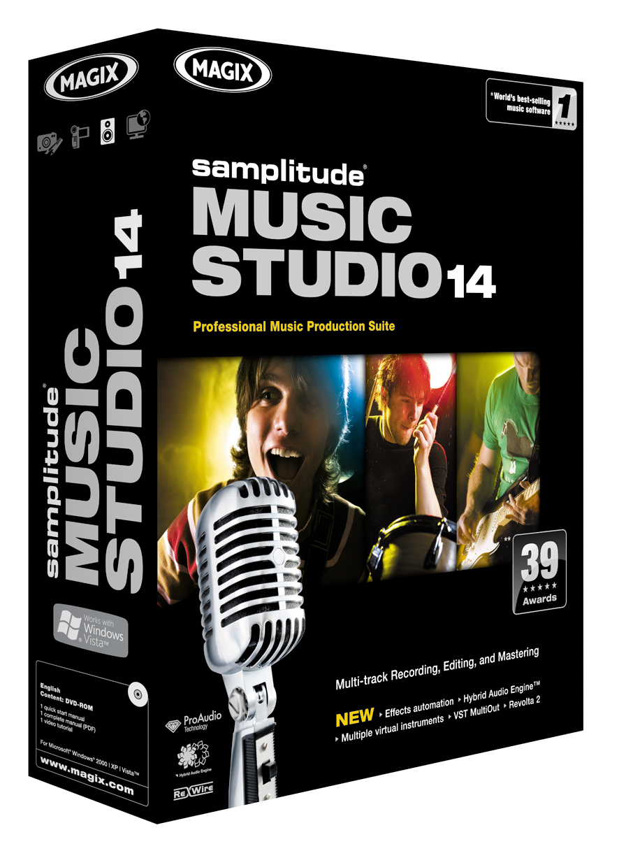 Samplitude Music Studio 14 Download version