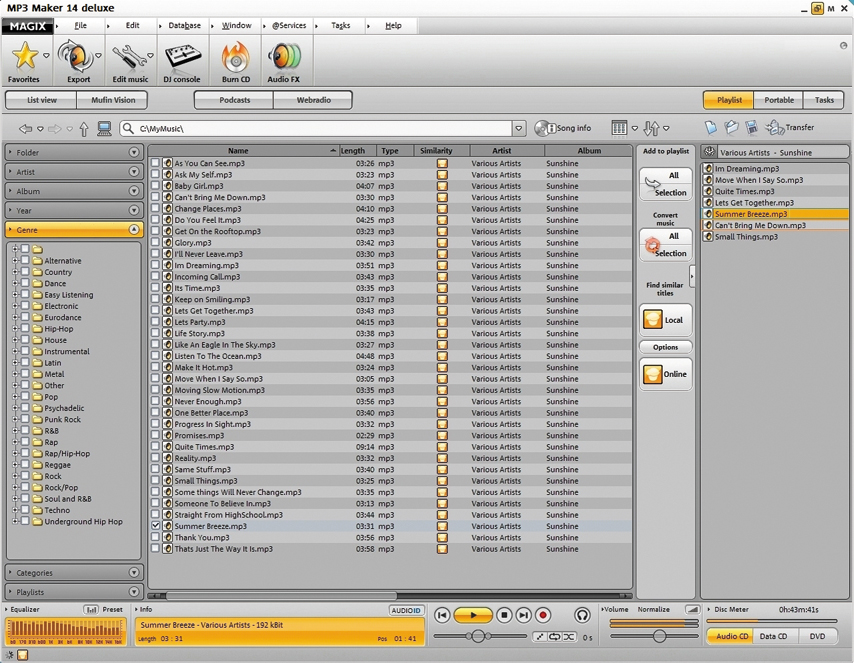 MAGIX MP3 Maker deluxe